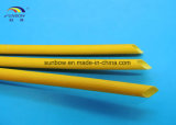 Flama - fibra de vidro retardadora do silicone que Sleeving a força dieléctrica
