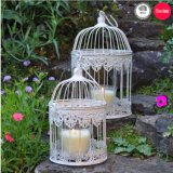 Birdcage do vintage Set/2 para a decoração do casamento
