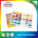 Revestimiento de emulsión Tarjeta de carta de colores en doble cara