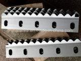 Lâminas da tesoura para a folha de metal do aparamento