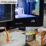 Type de plaque métallique d'Ecubmaker et imprimante 3D de type imprimante de Digitals pour le moulage en plastique d'impression personnelle