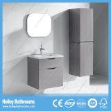 Moderner MDF-Badezimmer-Schrank mit zwei Fächern und seitlicher Eitelkeit (BF358D)