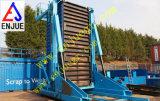 De elektrische Hydraulische Ineenschuivende Kantelhaak van de Container met de Cel van de Lezing van de Lading