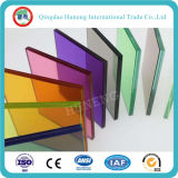 Alta calidad de vidrio laminado con PVB coloreada