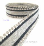 Ferro de Strass Motiv da corrente do Rhinestone do Glitter da transferência térmica em transferências de Diamante (TS-037)