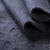 Tessuti di cotone e delle lane con il tessuto del jacquard nel nero