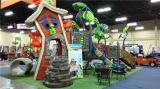 子供の販売(YL25051)のための屋外のスライドの運動場装置
