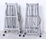 装飾のための折る携帯用プラットホームの梯子