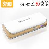 Batería portable 5000mAh de la potencia D50 con la luz del LED para el cargador del teléfono móvil