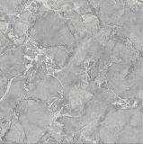 azulejo de suelo pulido esmaltado copia de mármol de 600X600m m con el diseño 3D-Inkjet