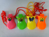 De Plastic Eend Quacker van vier Kleur