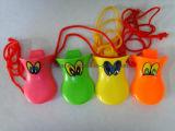 Vier Farben-Plastikente Quacker