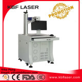 Máquina do marcador do laser da fibra para as medalhas da placa de identificação dos metais que gravam