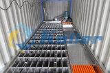 Macchina del creatore del blocco di ghiaccio del contenitore di grande capienza 10t per elaborare di pesca