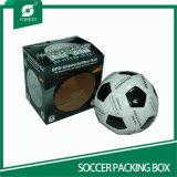 Caixas de empacotamento do futebol ondulado quadrado da forma