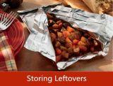 Papel de aluminio del hogar para el envasado de alimentos