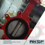 Lugged Tipo Resiliente Assentada / Totalmente PTFE Linded Concentric Butterfly Valve