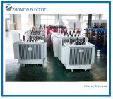 Il rame di isolamento di IEC che avvolge la fase a bagno d'olio 3 ascende il trasformatore