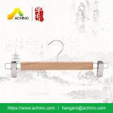 Gancio di legno della mutanda con le clip registrabili (WPSH002)