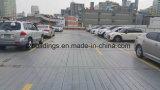 多階の鉄骨構造車の駐車建物
