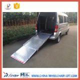 Rampa de carregamento de alumínio da cadeira de rodas Bmwr-301 com certificado do ISO