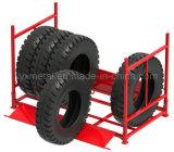 Empilhando cremalheiras empilhadas metal do aço do pneu do caminhão do pneumático TBR das séries