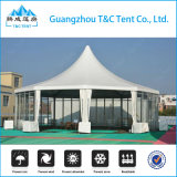 結婚式のイベント党のための大きいアルミニウムフレームPVC円形の円のドームのマルチ側面のテント