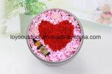 Atacado Procurando Flores Naturais / Rosas / Cabeça Rosa Rosa Preservada para Decoração de Casamento