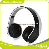 Auriculares sem fio dos auscultadores de Bluetooth da trilha dupla com função de rádio de FM