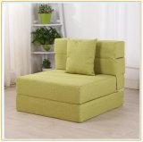 Кровать тюфяка и софы Tri-Fold пены складывая на гости 195*120cm
