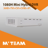 híbrido 4CH HD mini DVR do IP de 1080h Ahd Tvi Cvi Cvbs