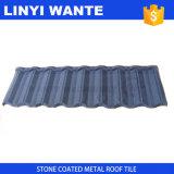 品質の約束の石の上塗を施してある金属の屋根瓦