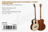 Бас 4-String высокого качества тавра Китая Aiersi электрический акустический (BG01SMCE)