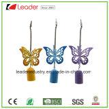 Klokkengelui van de Wind van de Vlinder van het metaal het Mooie voor het Ornament van het Huis en van de Tuin