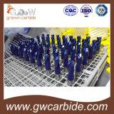 Квартира каннелюры карбида вольфрама HRC55-60 2 и стан шарового наконечника