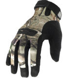 軍のMulticamo防水野生のTraning Multicamoのカムフラージュの戦術的な屋外のBionic完全半分指のスポーツの走行の皮手袋の暖か保存