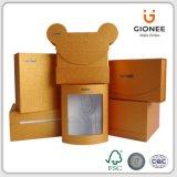 Decorativa de papel de lujo caja de regalo de joyería, electrónica Ect