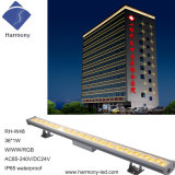 Iluminação do diodo emissor de luz da parede da lavagem do dissipador de calor de 36 diodos emissores de luz boa