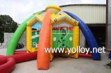 6 en 1 Combo Juego Deportes / Béisbol, Baloncesto, Dardos Soft, fútbol, frisbee Toss, y el juego de fútbol
