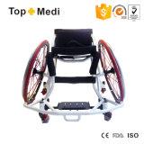 O basquetebol de alumínio do transporte Handicapped ostenta a cadeira de rodas em China