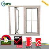 2016 самый последний PVC Windows и конструкция решетки двери, окно UPVC двойное застекленное