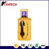 Telefono resistente resistente all'intemperie Knsp-10 del telefono Emergency della manopola automatica di Koontech