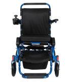 Cadeira de rodas de dobramento portátil de pouco peso da potência da cadeira esperta com bateria de lítio