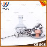 Tazón de fuente que fuma de la cachimba del tubo de agua de la cachimba de los tubos de agua de la calabaza de la soldadura de Egipto de humo del carbón de leña de Shisha