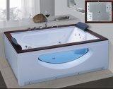 STAZIONE TERMALE della vasca da bagno di massaggio con vetro laterale per 2 la persona (AT-9804)