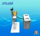 Máquina portable de alta velocidad de la marca del laser de la fibra para el metal/el acero