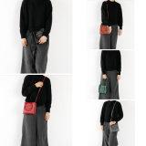 Modo della Corea del sacchetto di spalla di stile di svago del sacchetto di cuoio di Crossbody
