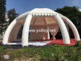 17mの直径の膨脹可能なくものドームのテント
