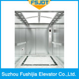 反対のドアが付いている病院のエレベーター