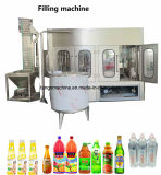 Завершите упаковку полностью готовый напитка бутылки заполняя разливая по бутылкам обрабатывая машинное оборудование